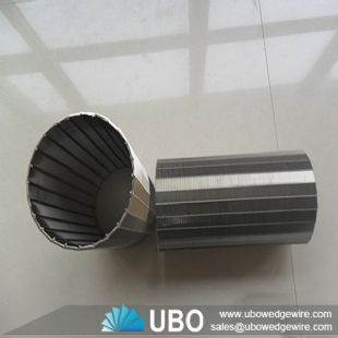 SS continuous wire wrap screen tube