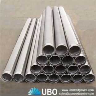 Wedge Wire Oil Screen Tube for filtration