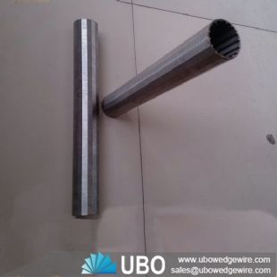 Johnson screen casing pipe for oil well