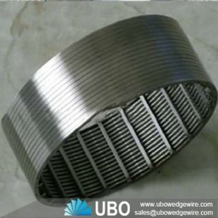 Stainless Steel Wedge Wire Screen pipe based laterals for water well
