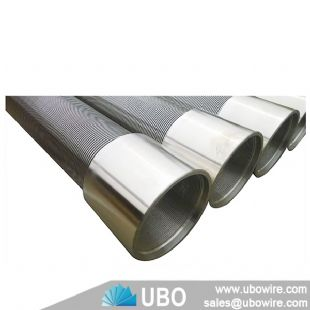 Stainless steel wedge wire screen for filtration