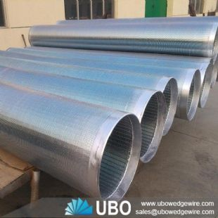 Stainless Steel Oil Well Screen Pipe for Water Well