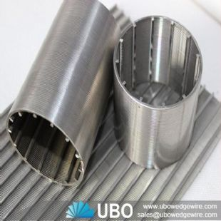 Stainless steel Johnson wedge wire slot screen pipe