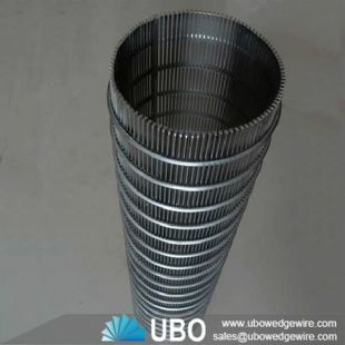 Stainless steel Johnson strainer wedge wrap wire screen pipe