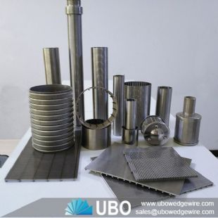 Stainless Steel Wedge Wire Screen Tube Filter Element