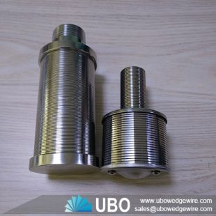 Pressure Wedge Wire Water Filter Nozzle Strainer for Liquid Filtration