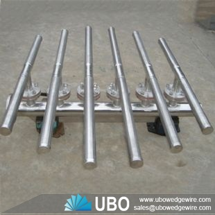 wedge wire screen header lateral for Drainage Systems
