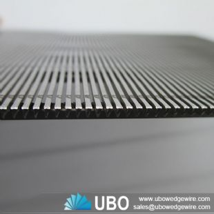 Stainless steel profile wire sieve wedge screen panels