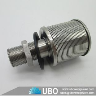 Quality Profile Wire Screen Filter Nozzle Strainer for Water Filtration System