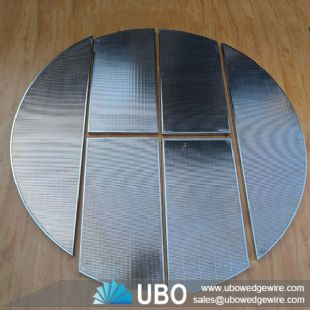 wedge ve wire fasel bottom lauter tun screen plate for beer brewry