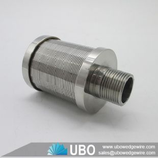 Stainless Steel Water Filter Nozzle Strainer for Water Treatment Equipment