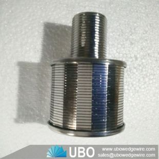 Johnson Wedge Wire Screen Nozzle Strainer for Activated Carbon Filtration