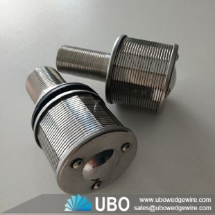 ss wedge wire screen sand filter nozzle