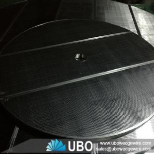 Stainless steel wedge wire round type lauter tun sieve screen panel