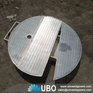 High quality wedge vee wire circle lauter tun screen plate filter