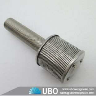 Stainless Steel Industrial wedge wire Water Softener System Nozzles Filter