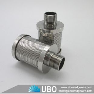 Industry wedge wire screen water filter nozzle for softener system