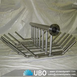 SS316 wedge wire screen Header laterals for organic substances