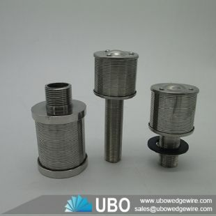 Stainless Steel Johnson 304 Water Slot Nozzle Screens for Water Treatment