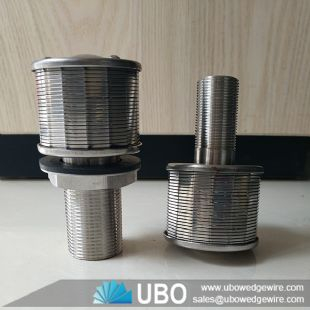 Customized SS nozzle screen filters wedge wire structure