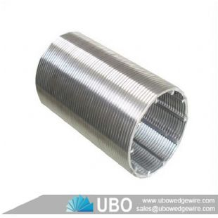Johnson wedge wire screen tube for water well
