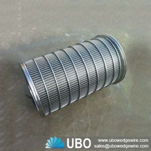 Wedge wire screen johnson screen for screw press