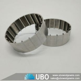Johnson screen pipe stainless steel slot filter element