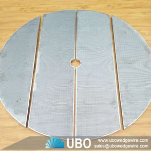 Johnson v wire screen lauter tun panel for beer equipment