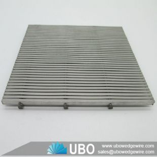 Johnson flat wedge wire screen panel for waste water treatment