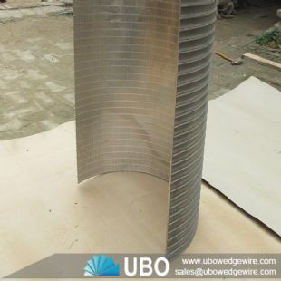 Wedge wire screen arc sieve bend screen plate for waste water equipment