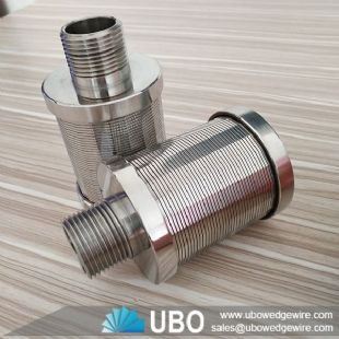 Hastelloy wedge wire screen filter nozzles used for lithium brine solution