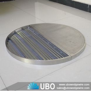 Stainless steel wedge wire false bottom screen used for beer equipment