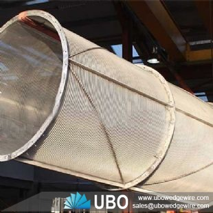 Stainless Steel Wedge Wire Trommel Screen