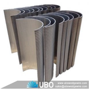 Stainless steel curved surface wedge wire screen filter factory