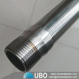 Stainless steel slotted wedge wire screen tube for industry filtration