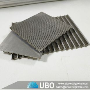 Stainless steel wedge wire slotted sieve screen plate