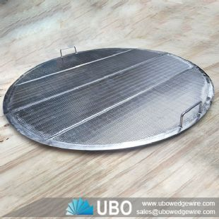 SS Wedge Wire False Bottom Screen for Lauter Tun