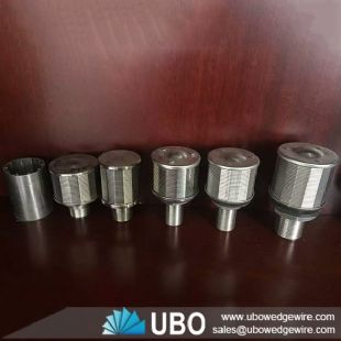 Stainless steel wedge wire water nozzle strainer manufacturer