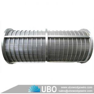 Wedge wire pressure screen basket manufacturer
