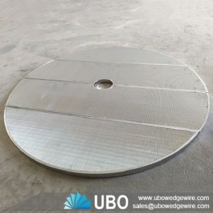 SS 304 Wedge Wire Screen Plate for False Bottom