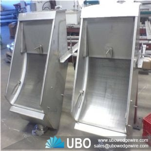wedge wire screen for food processing
