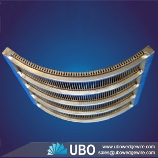 Stainless steel 304 Wastewater Treatment Wedge Wire Sieve bend