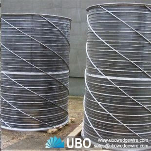 SS wedge wire screen drum basket of pressure screen