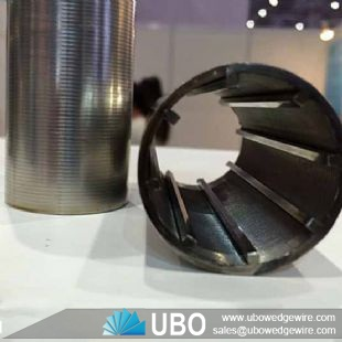 Stainless Steel Continuous-Slot Water Well Screen Pipe