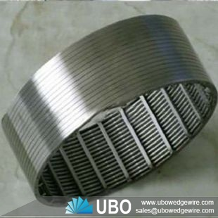 stainless steel wire wrap well screen slotted pipe