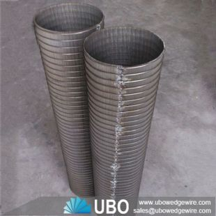 johnson v wedge wire stainless steel suction mesh water well pipe screen