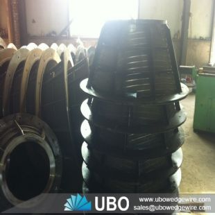 wedge wire screen centrifuge basket for mining