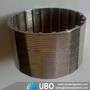 316L wedge wire cylindrical screen Johnson screen pipes for water well