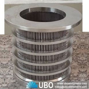 High Strength V Shaped Slot Stainless Steel Johnson Screen Pipe