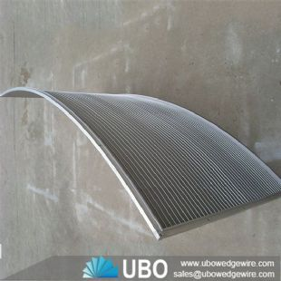 Stainless Steel 304 Wastewater Treatment Wedge Wire Screen Sieve Bend Screen